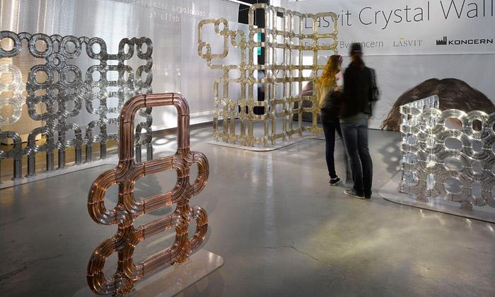 Koncern navrhl pro Lasvit skleněné Crystal Walls