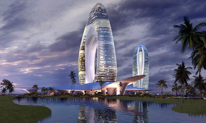 Čína staví umělý ostrov phoenix island podle mad