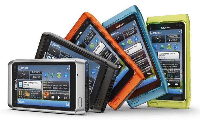 Nokia N8 sází nahliníkový design vmnoha barvách