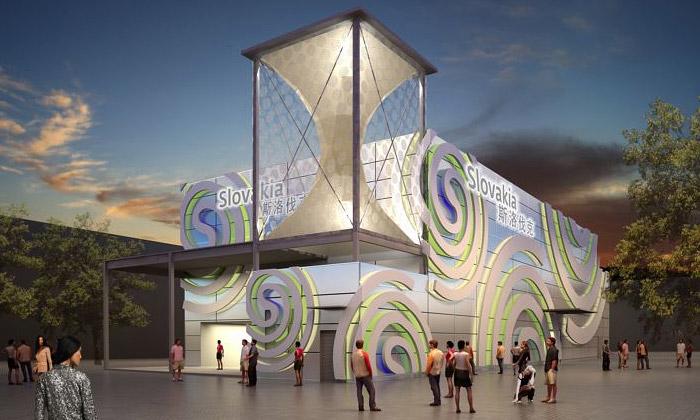 Slovensko má naExpo 2010 pavilon ze spirál