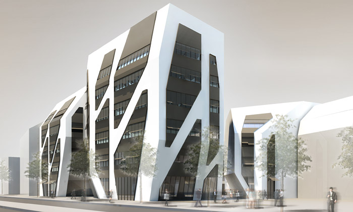 Jena začíná stavět futuristický komplex Sonnenhof