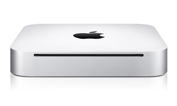 Apple uvádí malý hliníkový stolní počítač Mac mini