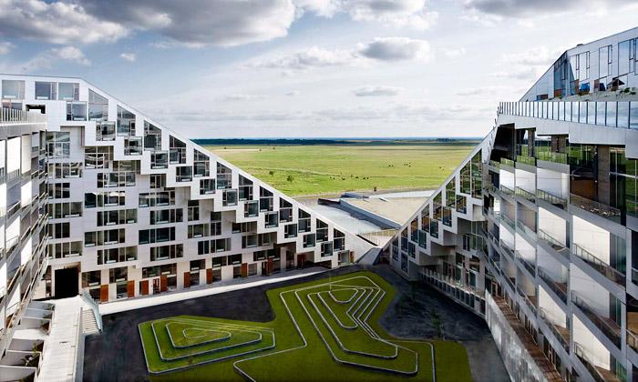 Největší bytový komplex Dánska je8 House odBIG