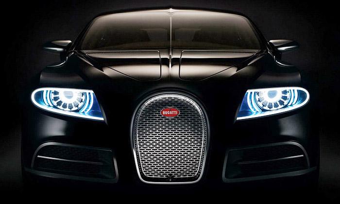 Luxusní sedan Bugatti 16C Galibier odhalen včerné
