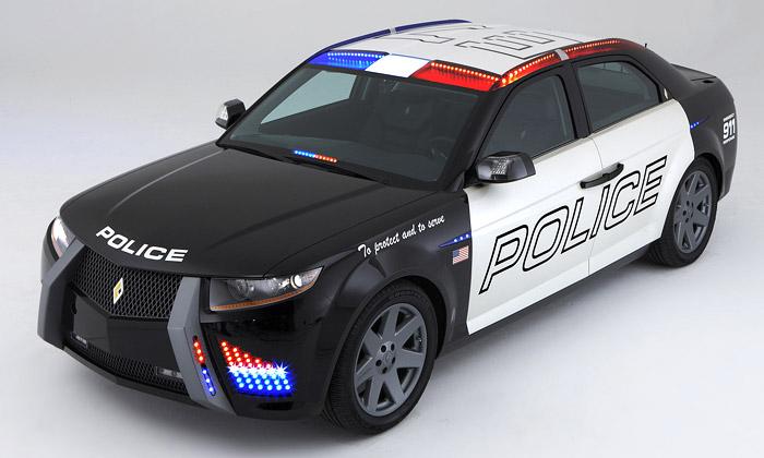 Policejní vůz Carbon Motors E7 zamíří doulic USA