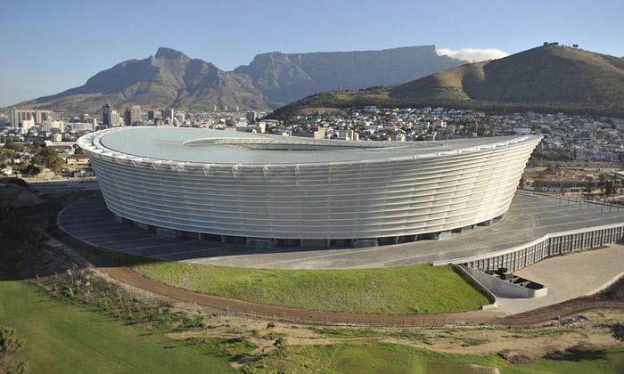 Stadion Green Point jenový maják Kapského města