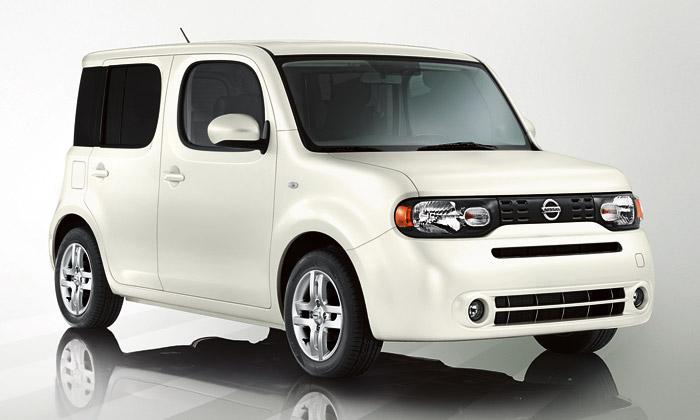 Hranaté vozidlo Nissan Cube míří načeský trh