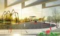 Vítězný návrh na revitalizaci oblasti Černá louka od ateliéru Maxwan