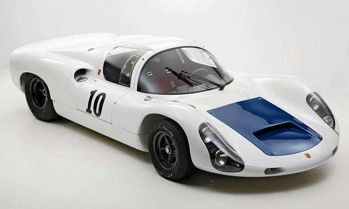 Porsche 910 Spyder Coupe kmání za milion dolarů