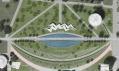 Vítězný návrh na dostavbu Průmyslového paláce a Křižíkovy fontány na Výstavišti Holešovice
