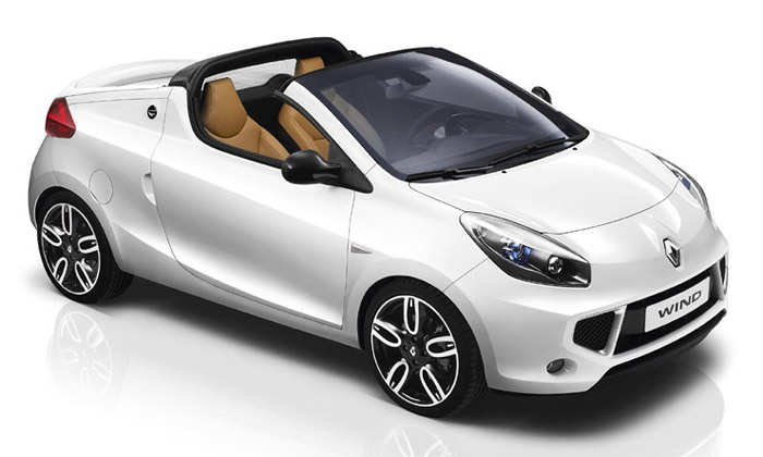 Ojedinělý roadster Renault Wind vprodeji ivČesku