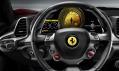 Nový model vozu Ferrari 458 Italia vystavený v Praze