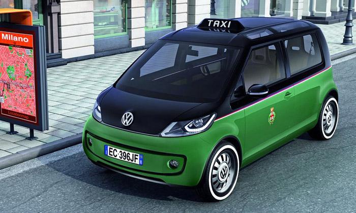 Volkswagen Milano Taxi jezdí městy naelektřinu