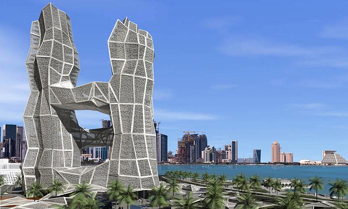 XVStudio postaví Kataru mrakodrap Alpha zdlaždic