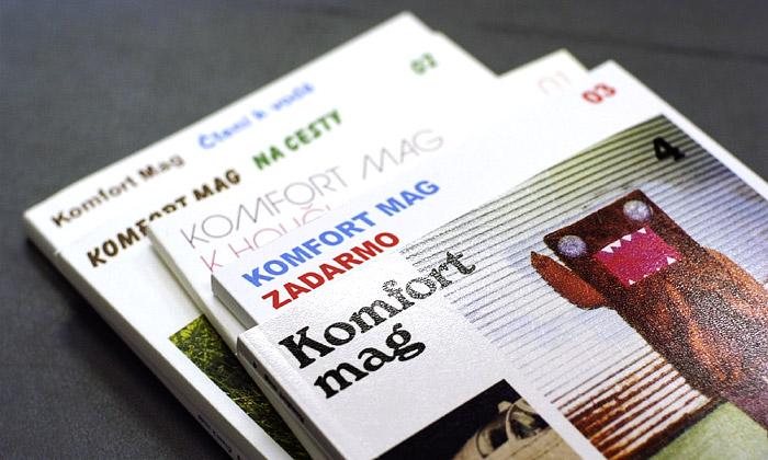 Vyšlo další číslo alternativního časopisu Komfort Mag