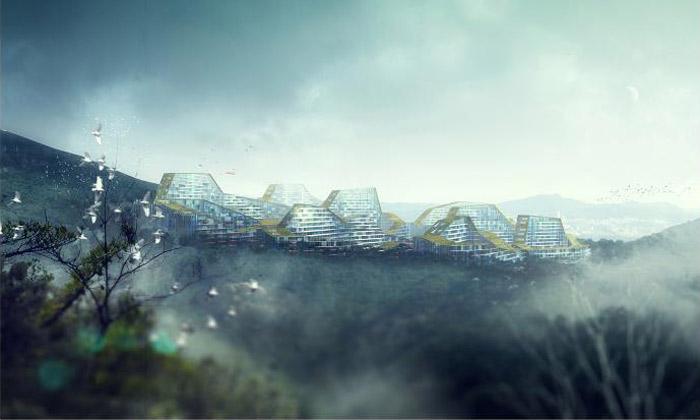 Soul postaví podle Cie čtvrť Gangnam jako pohoří