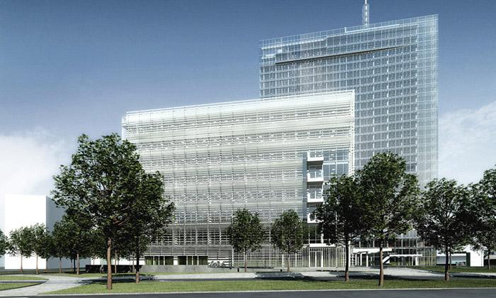 Začne výstavba City Green Court odRichard Meier