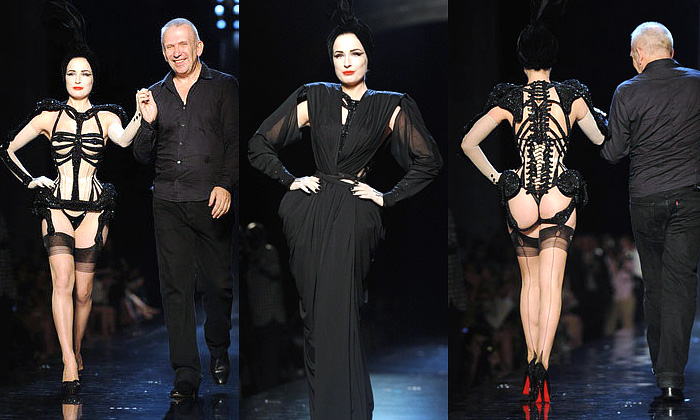 Jean Paul Gaultier hvězdou zimního Haute Couture
