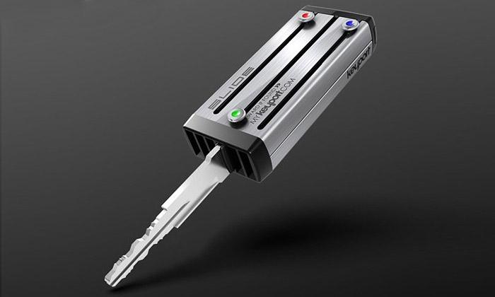 Keyport Slide jeuniverzální malé pouzdro naklíče