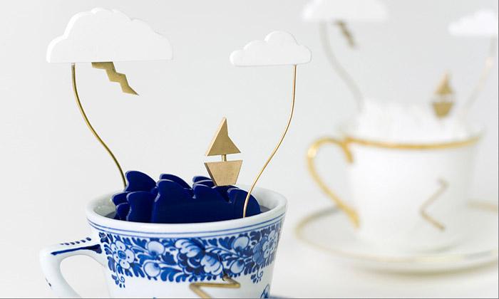 V kinetickém umění letí Bouřka všálku čaje aPrsty