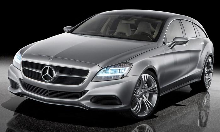 Mercedes-Benz Shooting Break jesportovní kombi