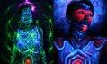 UV bodypainting v podání umělce Alienjedna