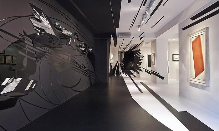 Zaha Hadid asuprematismus navýstavě vCurychu