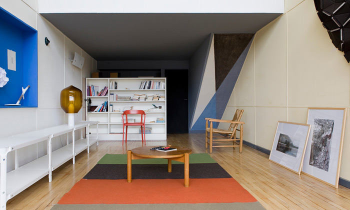 Ronan & Erwan Bouroullec designovali Apartmá 50