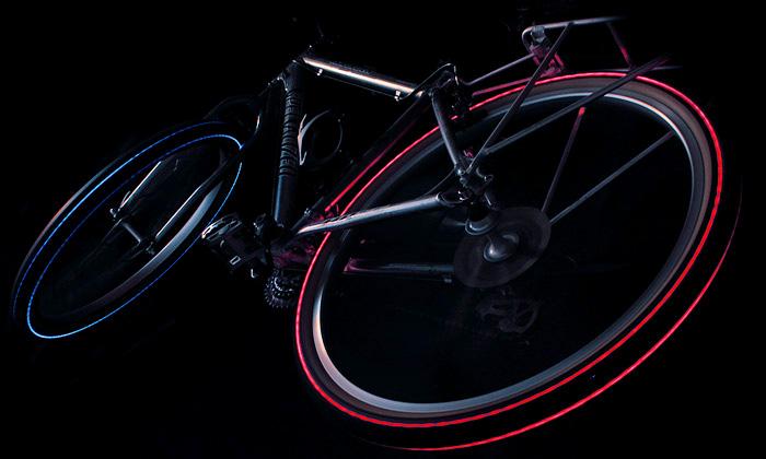 Cyglo přichází sesvítícími LED plášti ujízních kol