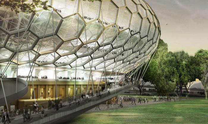 Erick van Egeraat přestaví stadion Dynamo Moskva
