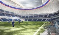 Stadion Dynamo Moskva aneb VTB Arena Park od studia Erick van Egeraat
