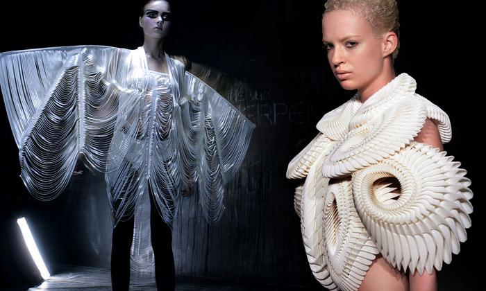 Iris van Herpen přichází savantgardními 3D modely