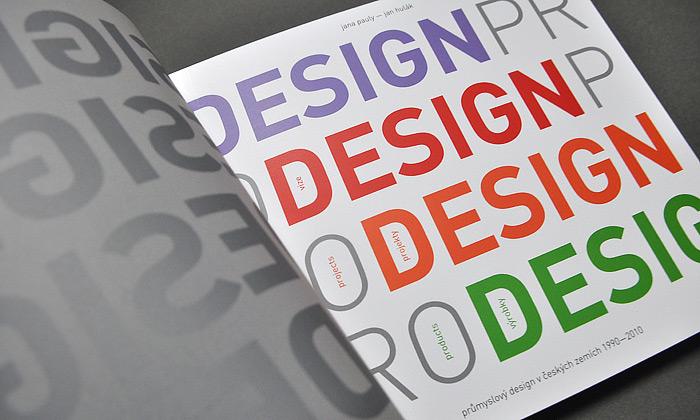 Dvacet let českého designu vknize Design Pro