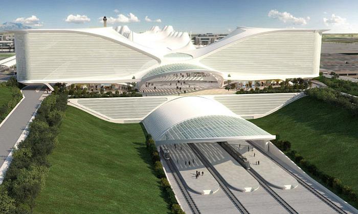 Calatrava postaví letišti vDenveru terminál imost