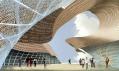 Španělský pavilon na Expo 2010 na vizualizacích