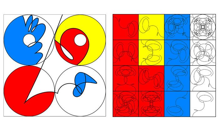 New Yorku vystavuje barevné experimenty Samraje