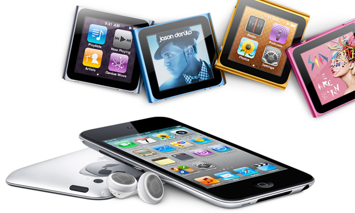 Apple předvedl tři nově vylepšené přehrávače iPod