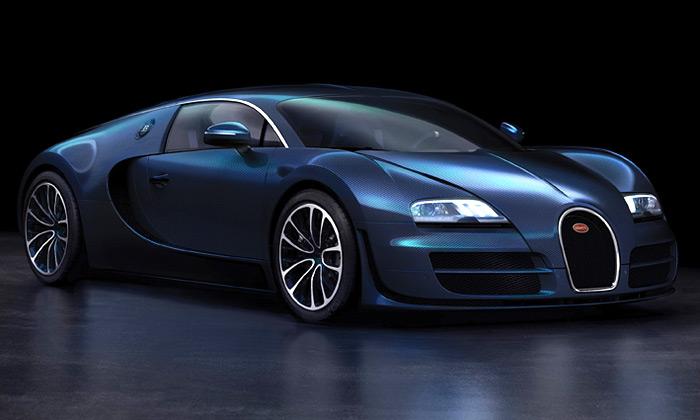 Luxusní sporťák Bugatti Veyron Super Sport natrhu