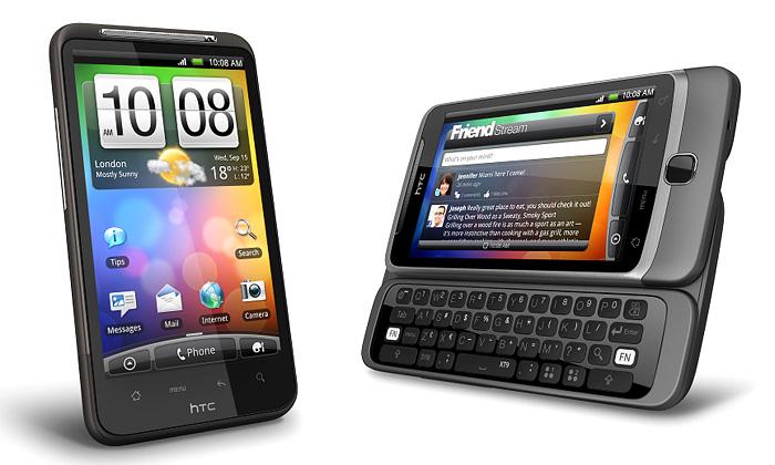 HTC uvádí telefony Desire sklávesnicí iHD videem