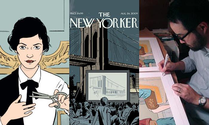 Adrian Tomine uchvacuje svými grafickými příběhy