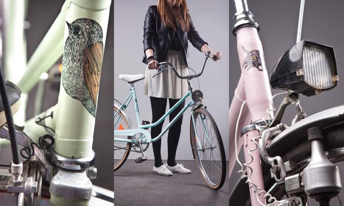 Damebike dělají redesign starých retro jízdních kol