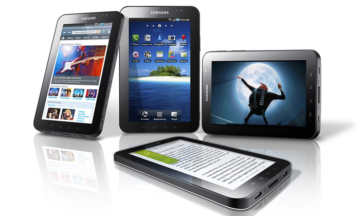 Tablet Samsung Galaxy Tab konkurentem pro iPad