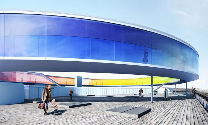 Dánsko staví duhovou panoramatickou vyhlídku