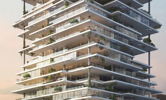 Herzog & de Meuron postaví vBejrútu dům zteras