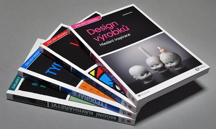 Vyšly čtyři české knihy vedici Základy designu