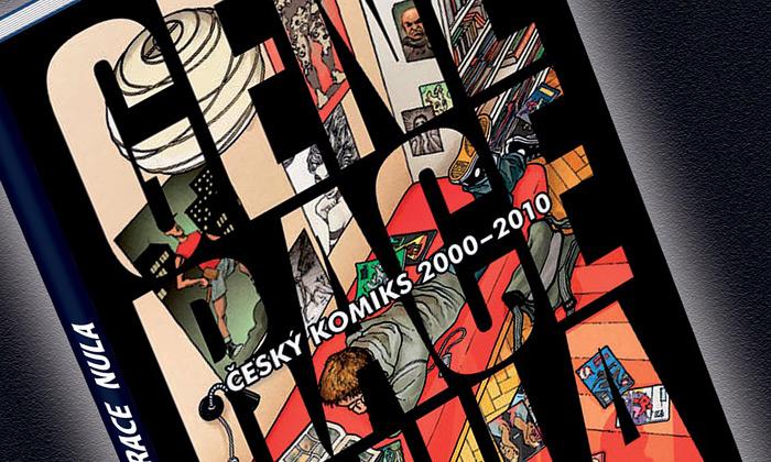 Kniha Generace nula jenadějí českého komiksu