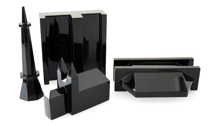 Martin Jakobsen navrhl miniatury známých staveb