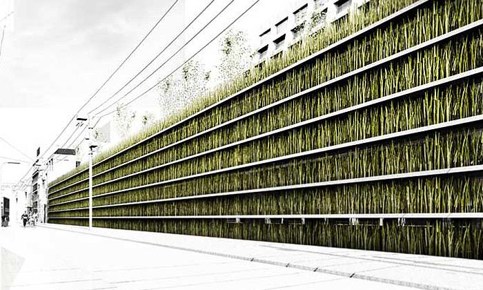 V centru Tokia má vyrůst zelená parkovací oáza