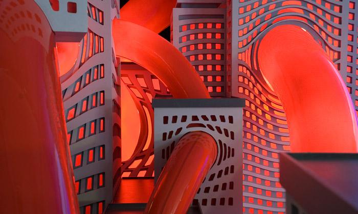 Český street art navýstavě Metropolis vgalerii DOX
