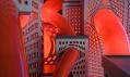 Ukázka ze street art výstavy Metropolis vpražském centru DOX